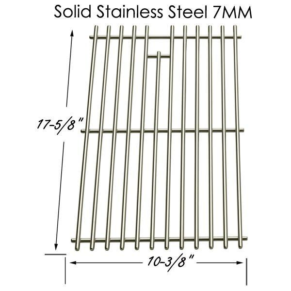 Stainless Cooking Grid for Amana AM33LP P Gas Grill Model