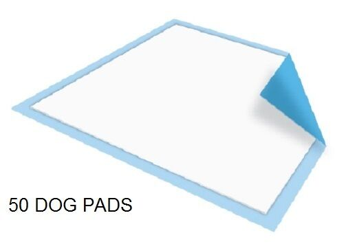 50 - Dog Puppy 23x36 Pet Housebreaking Pad Pee Training Pads  Underpads