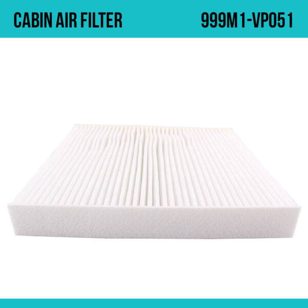 New OEM Quality Cabin Air AC Filter Element For Nissan 999M1-VP051