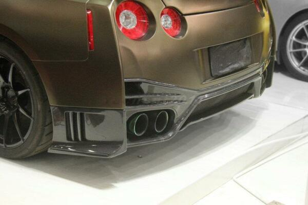 Carbon Kit Fit For 11 15 Nissan R35 GTR DBA OE Style Rear Diffuser Underboard $600.00