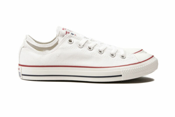 Converse Chuck Taylor All Star Optical White Low Top OX M7652 Canvas New in Box