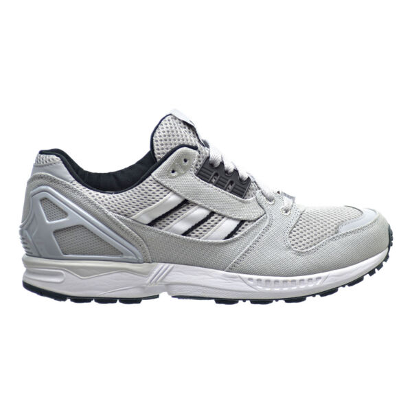 Adidas ZX 8000 Mens Shoes Light Solid Grey/White/Black Running Shoes b24858