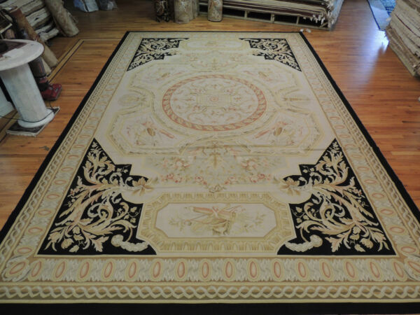 Spectacular OversizePalace  French Aubusson Style Area Rug 12x18
