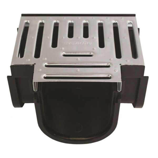 Everhard Industries EasyDRAIN BLACK POLYMER TEE PIECE+GALVANISED GRATE AUS Brand
