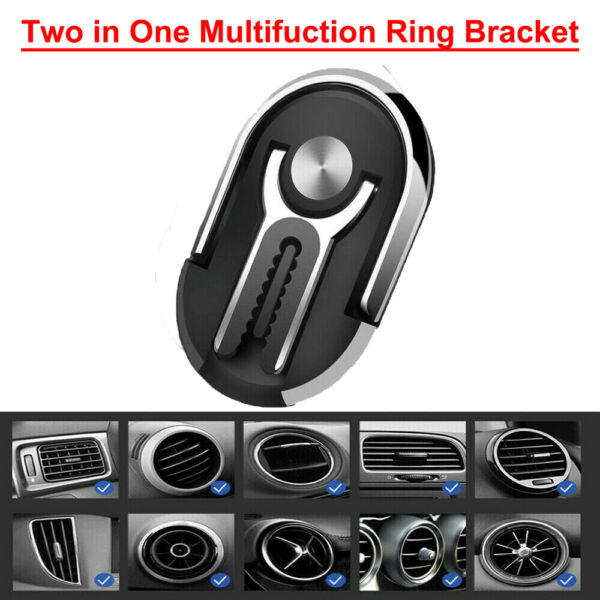 360° Bracket Mobile Cell Phone GPS Magnet Car Dash Stand Mount Holder Universal