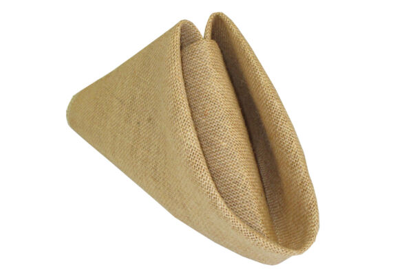 LA Linen Pack 10 Burlap Napkins 18 by 18 Inch. Made in USA