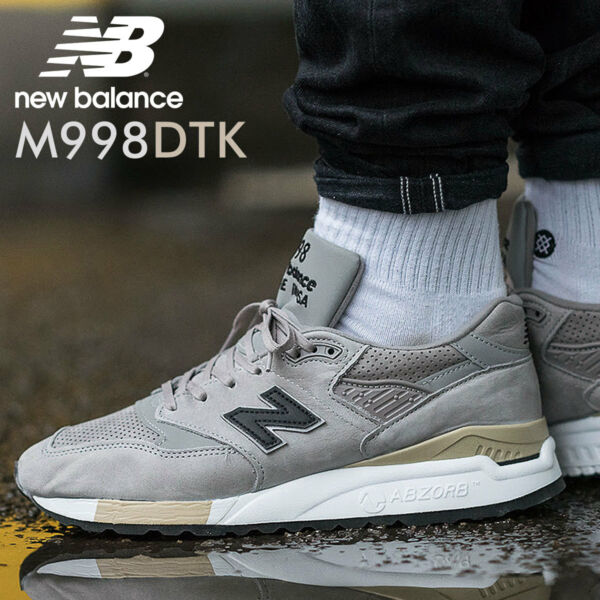 NEW IN BOX! NEW BALANCE 998 CLASSIC CASUAL SHOES M998DTK MADE IN USA SZ 5-11