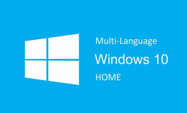 WINDOWS 10 HOME KEY LICENZA MULTI-LANGUAGE 32/64 BIT