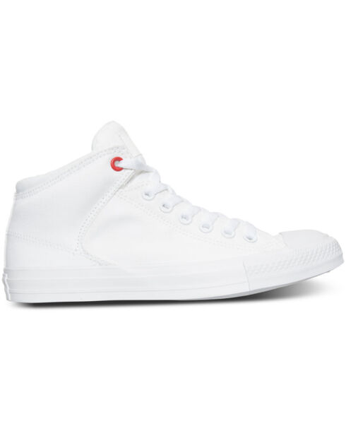 Converse Chuck Taylor High St. Hi White/White Mens Sneakers 153770C