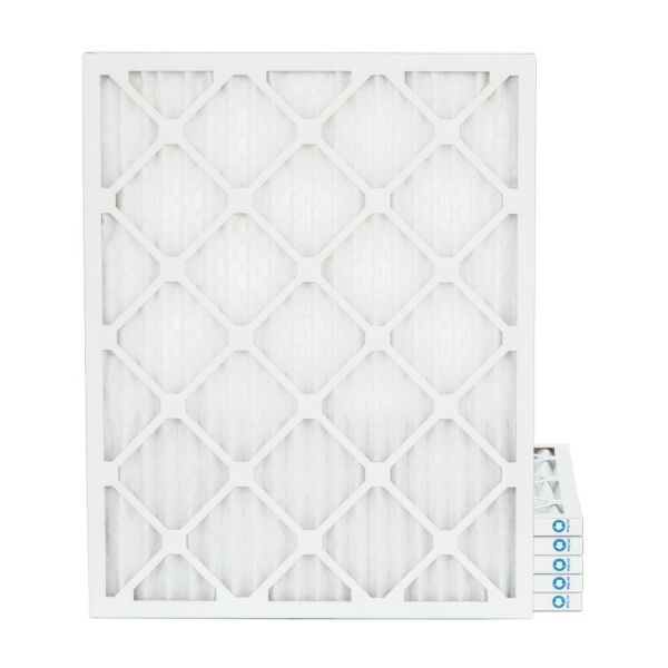 20x25x1 MERV 8 Pleated AC Furnace Air Filters by Glasfloss. 6 Pack. $32.94