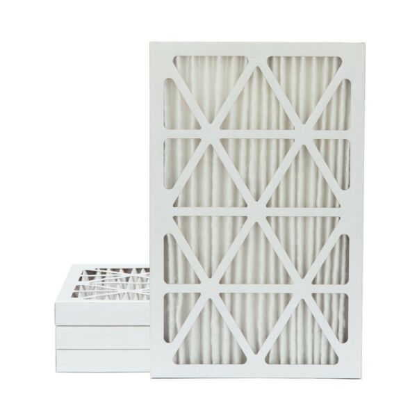16x25x2 MERV 13 Pleated AC Furnace Air Filters.    4 Pack  $11.99 each