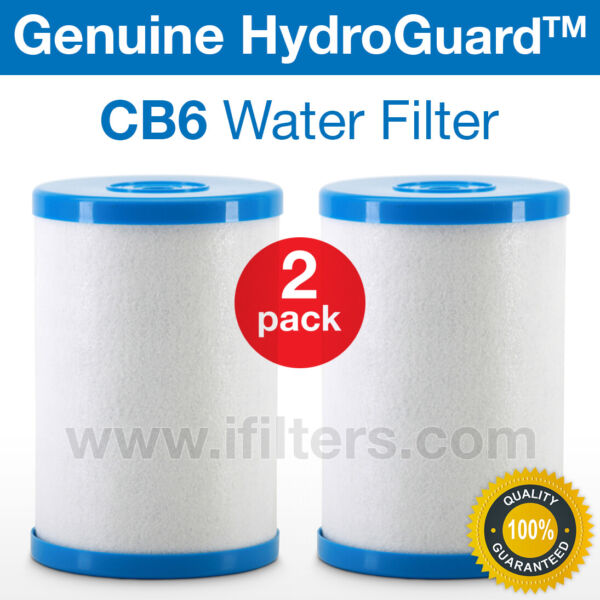 2 Pack Genuine Hydro Guard CB6 Carbon Block Water Filter For MP Systems $64.99