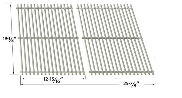 Stainless Cooking Grid For Perfect Falme PF30LP 9576 84NZ 9577 44 Set of 2
