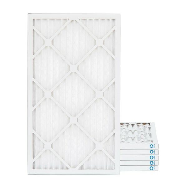 16x25x1 MERV 8 Pleated AC Furnace Air Filters by Glasfloss. 6 Pack. $31.26