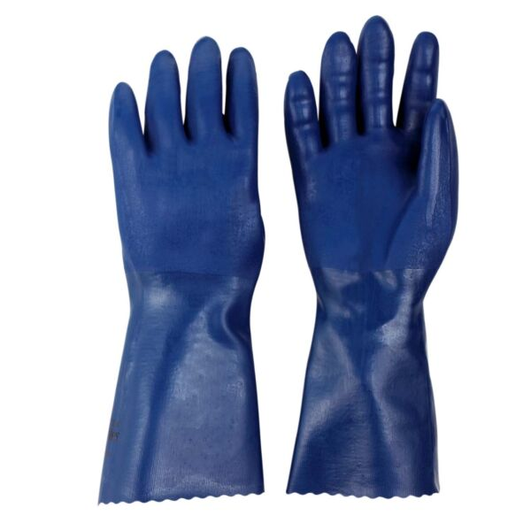 Spontex Bluettes Gloves - 4 Sizes - Cleaning Gardening Dishes Rubber Heavy Duty