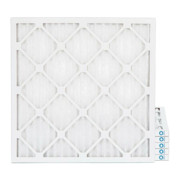 14x14x1 MERV 8 Pleated AC Furnace Air Filters. 6 Pack. Made in USA $31.98