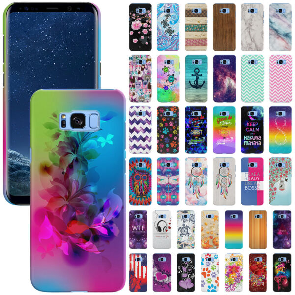 For Samsung Galaxy S8+ Plus G955 Design Protector Hard Back Case Cover Skin