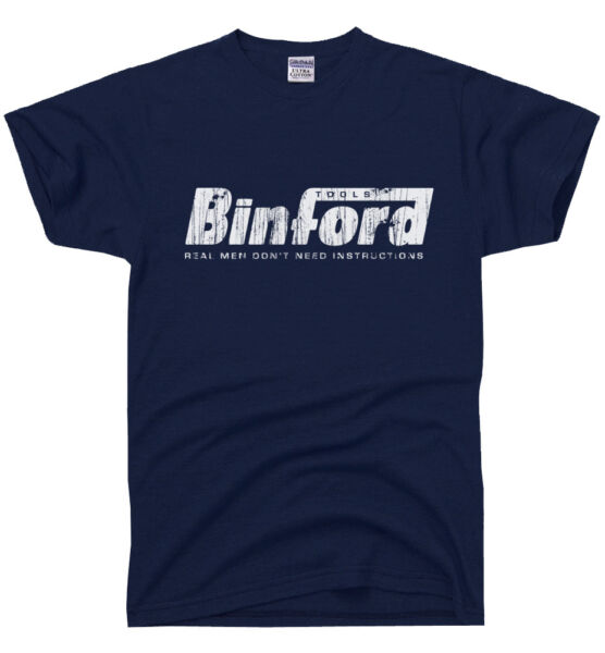 BINFORD TOOLS Funny Home Improvement TEE Tool Time Retro Tim 90s TV t-shirt