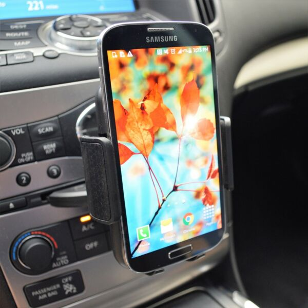 CD Slot Car Phone Holder Universal Cell Phone Car Mount for iPhone Samsung $8.49