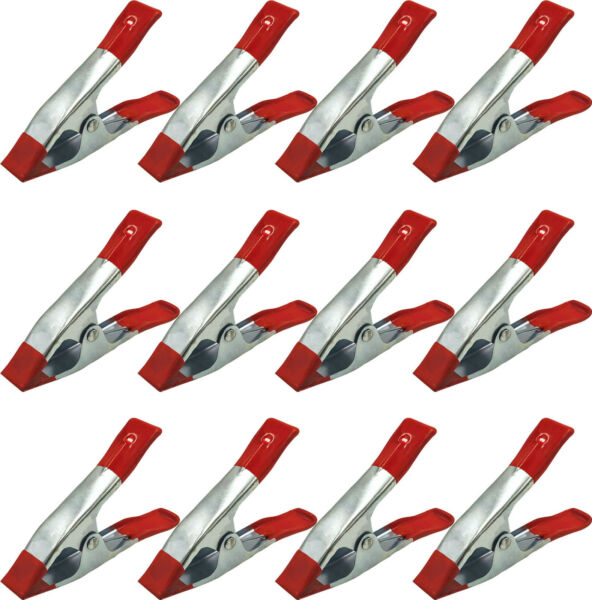 12 Pack 6quot; Heavy Duty Spring Clamps