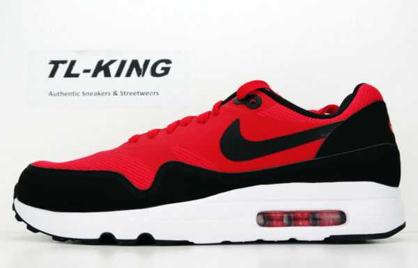 Nike Air Max 1 Ultra 2.0 Essential University Red Black 875679 600 Msrp $120 An