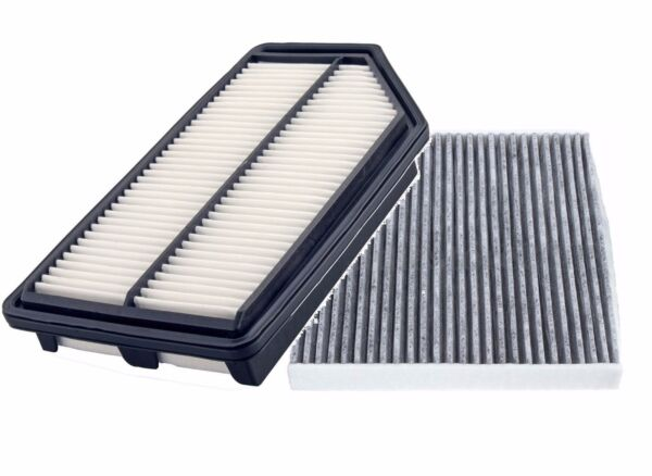 ENGINE AIR FILTER + CARBONIZED CABIN AIR FILTER for HONDA ODYSSEY 2011- 2017