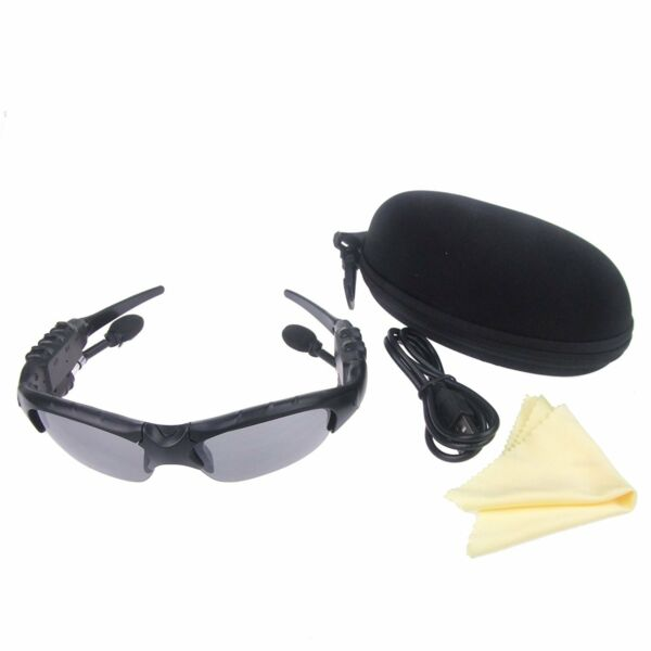1x Smart Bluetooth Polarized Driving Sunglasses Sports Sunglasses With Earphone