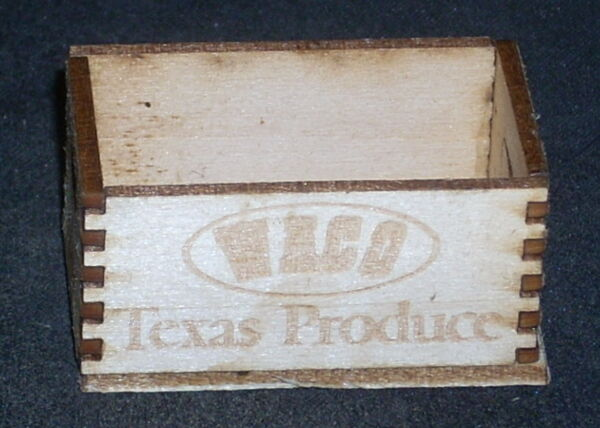 Dollhouse Miniature Waco Produce Crate 1:12 Store Market Farmers Grocery Store