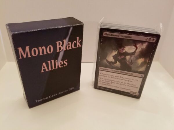 MTG Modern  & Theme Decks - Mono Black Vampire Allies Magic the Gathering