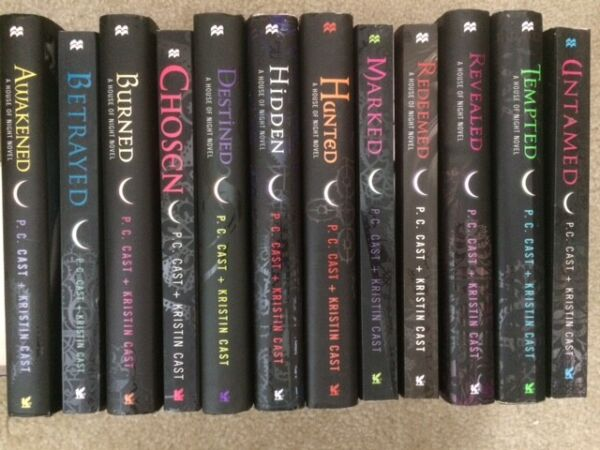 House of Night lot complete series 1-12 set P C Cast Vampire Revealed Redeemed