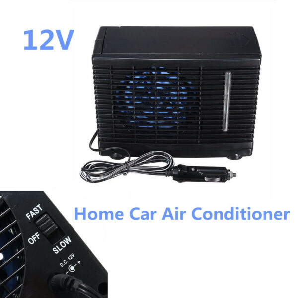 Universal 1Pcs 12V Car Cooler Cooling Fan Water Ice Evaporative Air Conditioner