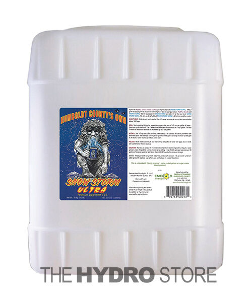 Humboldt County's Own Snow Storm Ultra 5 Gallon - plant growth nutrient gal