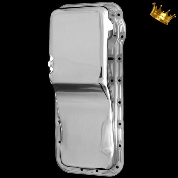 Chrome Ford FE Oil Pan fits 352 390 427 428 Car Engines Front Sump