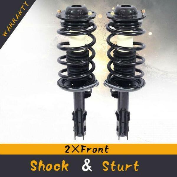 For 05-10 Pontiac G6 (2) Front Quick Complete Struts & Coil Spring Assembly Pair