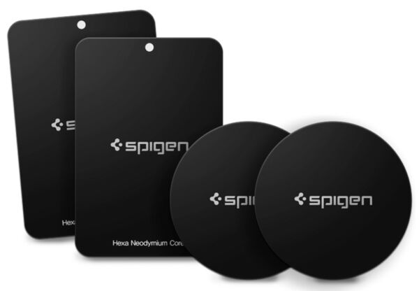 Spigen® [A210] Universal Cell Phone  Car Mount Holder QNMP Magnetic Metal Plate