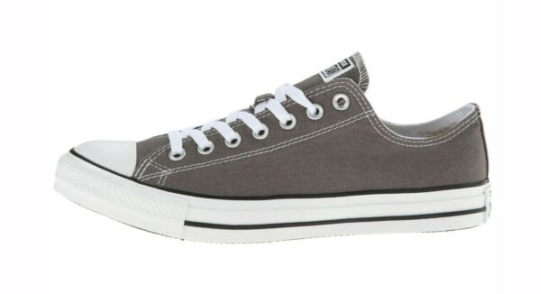 Converse Chuck Taylor All Star Low Top Canvas Women Shoes 1J794 - Gray/White