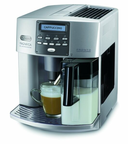 DeLonghi One Touch ESAM 3600 Automatic Coffee Machine Elegance milchbeh