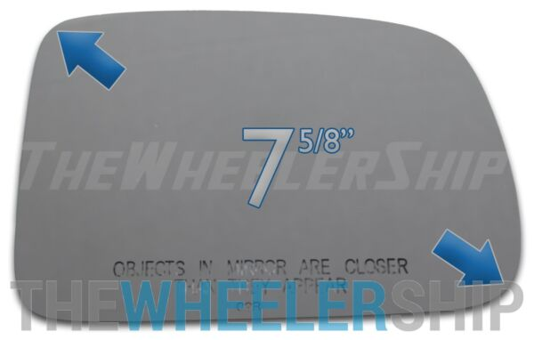 New Mirror Glass Replacements For Honda CR-V CRV 1997-2006 Passenger Right Side
