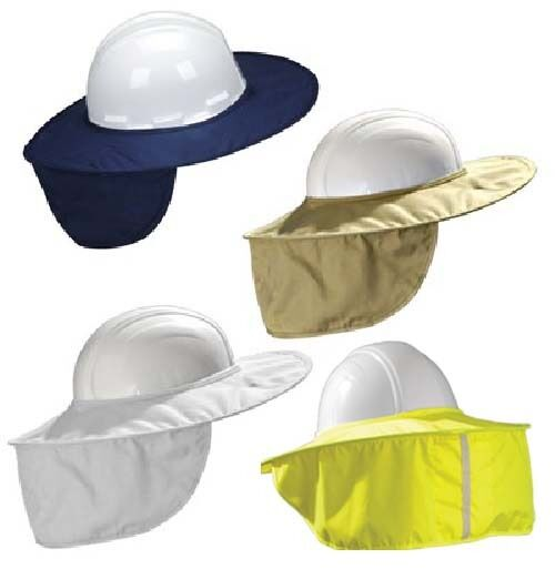 Occunomix MiraCool Stow Away Hard Hat Sun Shade Protects Neck Face