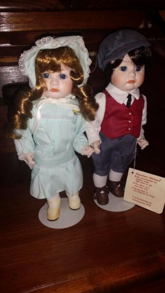 Hopechest Heirloom Porcelain Dolls