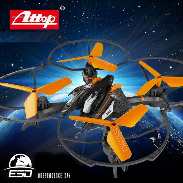 Licensed Independence Day Remote Control Drone RC Quadcopter 2.4GHz w HD Camera