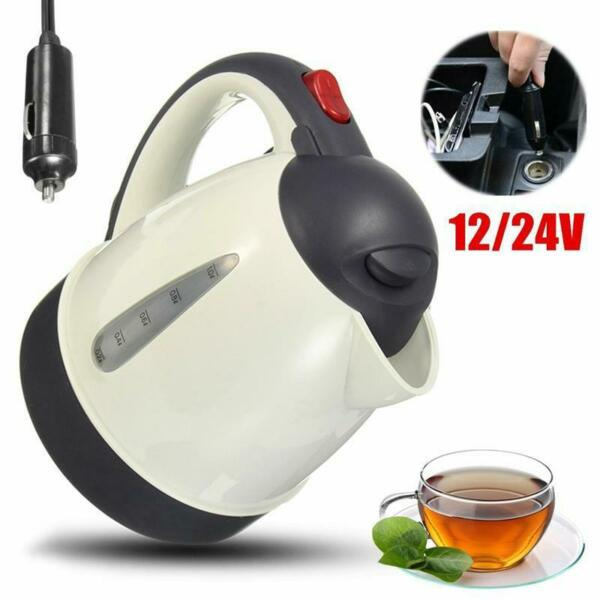 Heater Water Car Portable 12v Auto Tea Coffee Immersion Electric Kettle Auto Kit