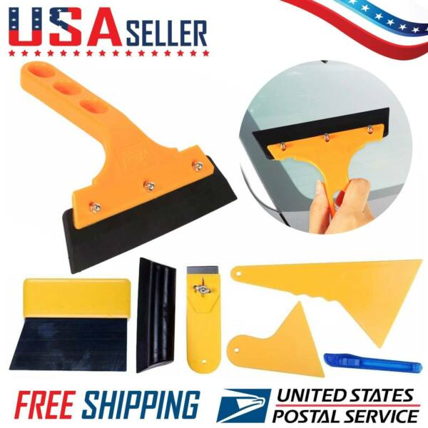Car Window Tint Tools Kit Scraper Squeegee for Auto Film Tinting Installation