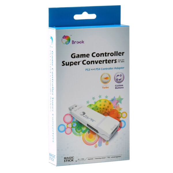 Brook Adapter for PS3 to PS4 Gaming Converter White $42.99