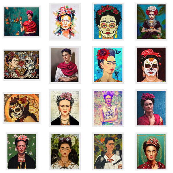 Frida Kahlo Art Canvas Print Painting Picture Wall Mural Hanging Home Decor