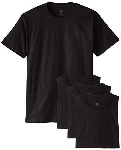 New Hanes Men#x27;s 5280 ComfortSoft 100% Cotton T Shirt Pack of 4 Value Pack 5280