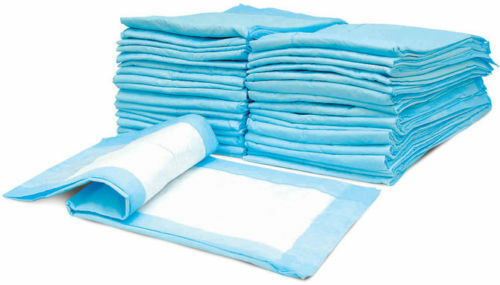 150 CT 23x36 Adult Disposable Bed Wheel Chair Incontinence Under Pad Underpads $30.78