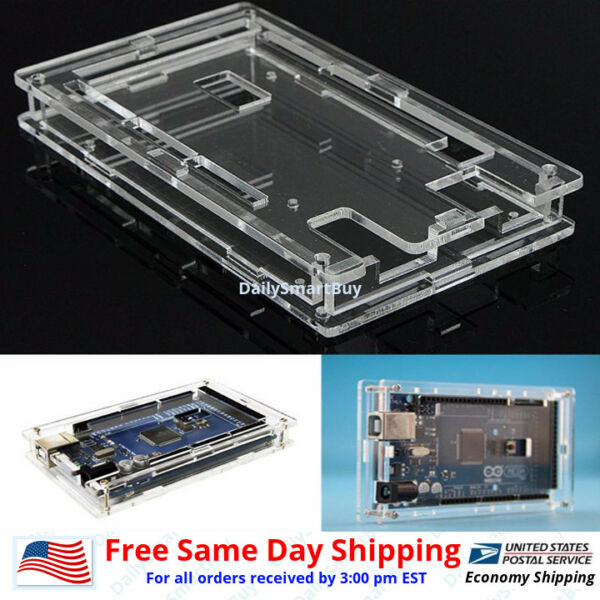 Arduino Mega 2560 /Acrylic Box Enclosure Transparent Case for Arduino MEGA2560