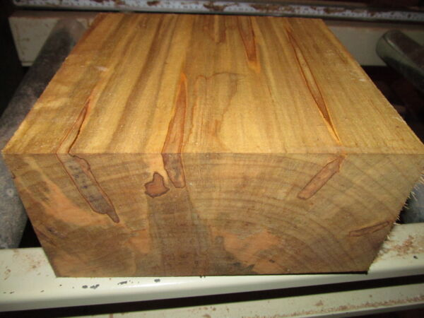 MAPLE BOWL BLANKS LATHE TURNING BLOCK LUMBER WOOD LATHE WOOD 8 X 8 X 4quot; $29.95