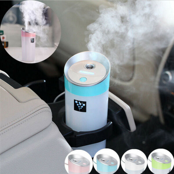 Ultrasonic Humidifier Cool Air Diffuser Purifier Home Office Room Car Portable